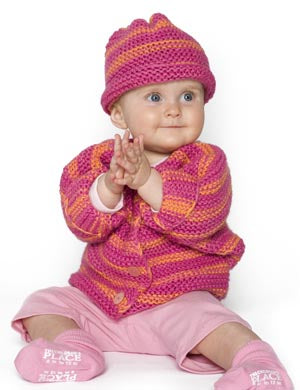 Bubblegum Baby Set Pattern (Knit)