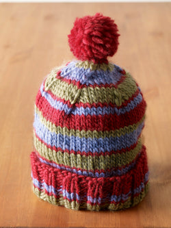 Bunny Slope Hat Pattern (Knit)