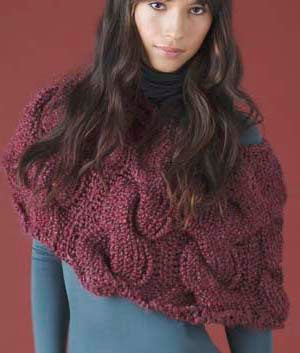 Cable Capelet (Knit)