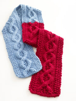 Cable Scarf Pattern (Knit)