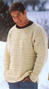 Cape Cod Unisex Pullover Sweater Pattern (Knit)