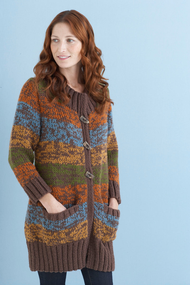 Car Coat Pattern (Knit)