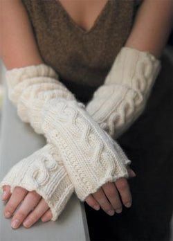 Cashmere Arm Cosies (Knit)