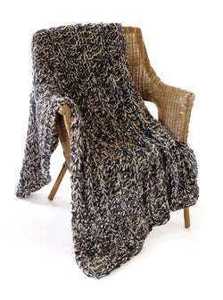 Champagne by Night Speed Stix Afghan Pattern (Knit)