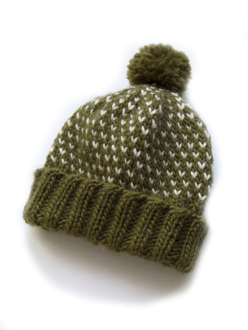 Chance of Flurries Hat Pattern (Knit)