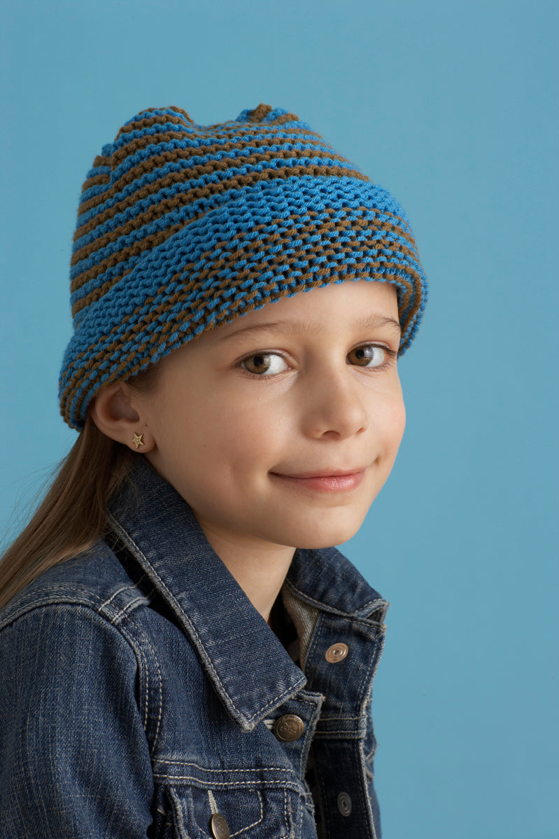 Cheerful Baby Hat Pattern (Knit)