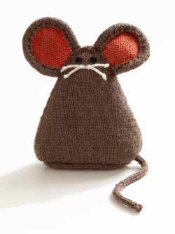 City Mouse Toy Pattern (Knit)
