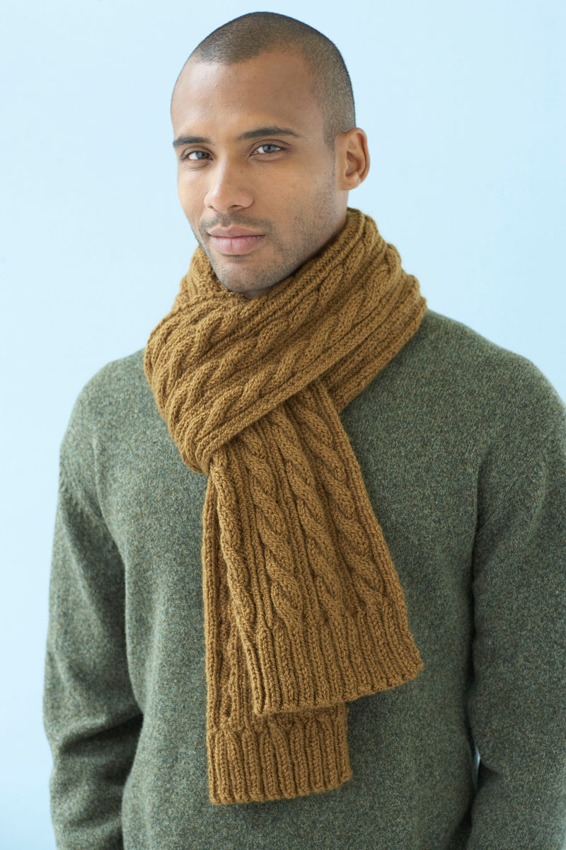 Classic Cables Scarf Pattern (Knit)