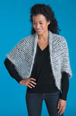 Cocoon Shrug (Knit)