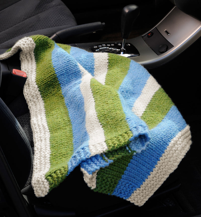 Compact Car Blanket Pattern (Knit)