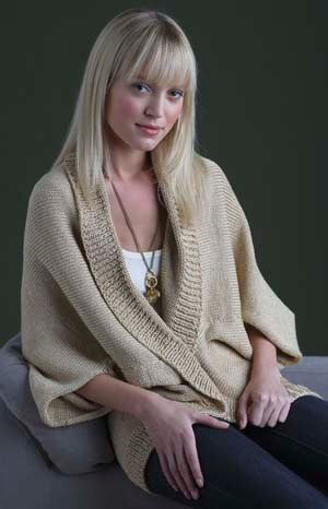 Curtain Call Shrug (Knit)
