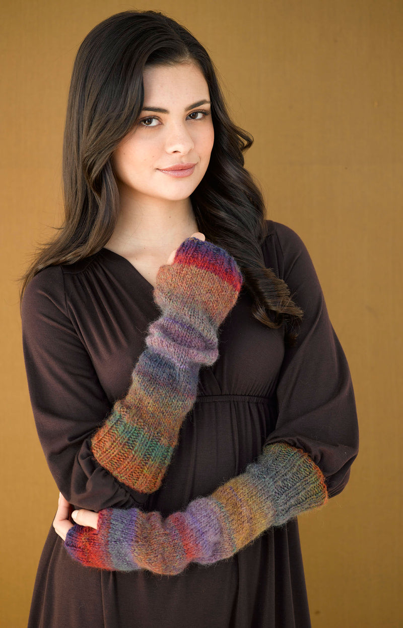 Dolce Fingerless Gloves (Knit)