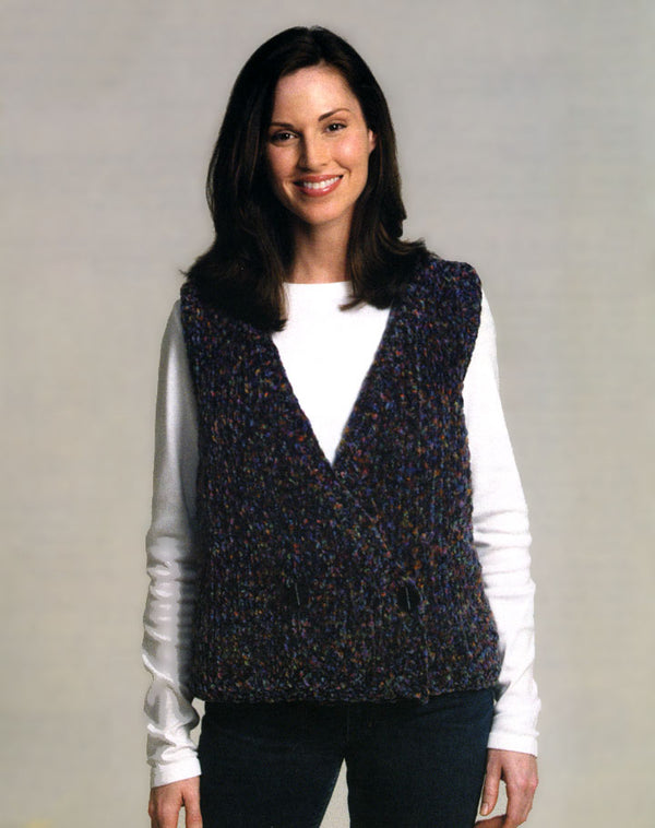 Double Breasted Vest Pattern (Knit)