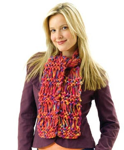 Drop Stitch Scarf Pattern (Knit)