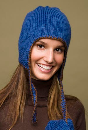 Earflap Hat Pattern (Knit)