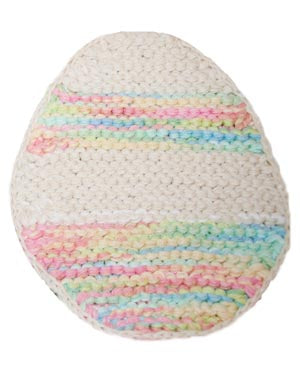 Easter Egg Hot Pad Pattern (Knit)