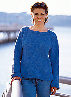 Easy Adult Sweater (Knit)