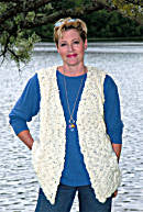 Easy Cable Vest Pattern (Knit)