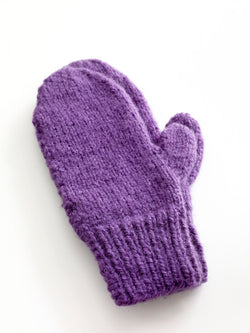 Easy Knit Mittens Pattern