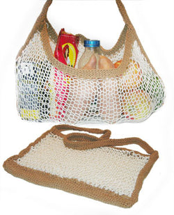 Eco-Friendly Expandable Shopping Bag (Knit)