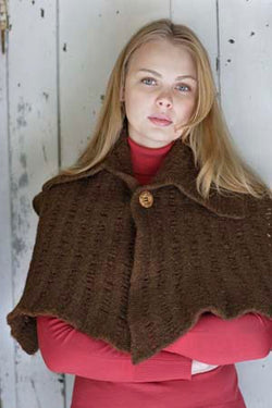Felted Capelet Pattern (Knit)