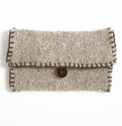 Felted Uptown Clutch (Knit)