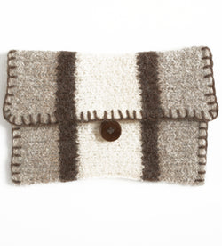 Felted West End Clutch (Knit)