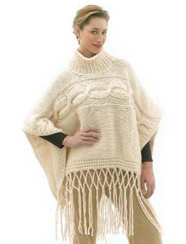 Fishermans Poncho Pattern (Knit)