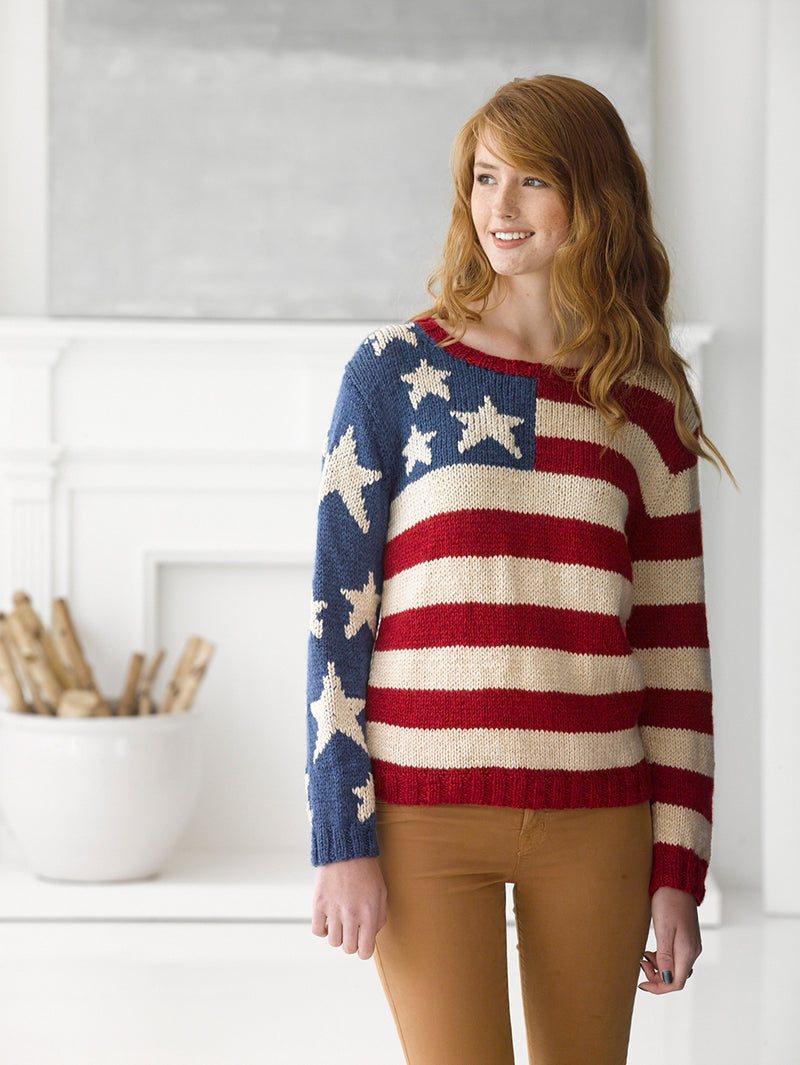 Flag Pullover (Knit)