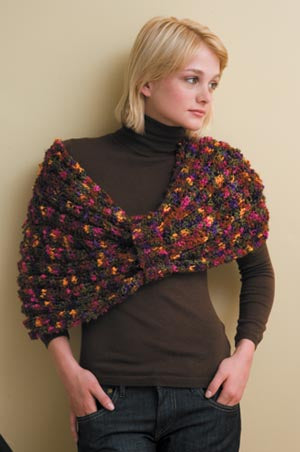 Flower Power Wrap Pattern (Knit)