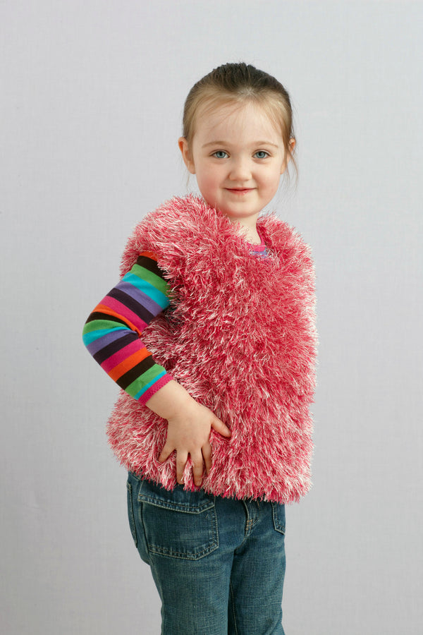 Fluffy Pink Top Pattern (Knit)