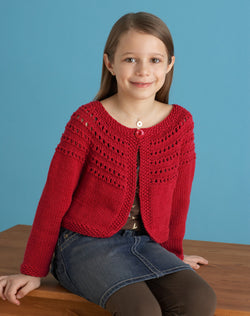 Fresh Picked Color 3 4 Sleeve Cardigan Pattern (Knit)
