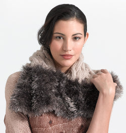 Fur Luxe Neck Warmer (Knit)