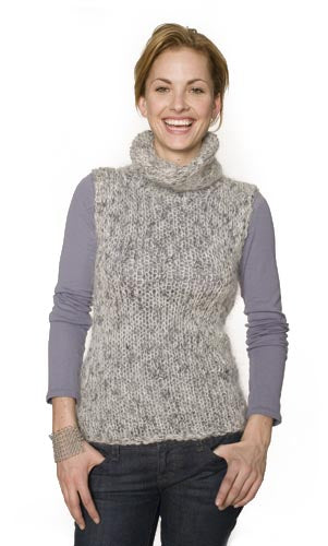 Fuzzy Turtleneck Pattern (Knit)