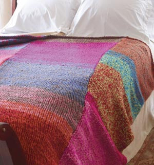 Glorious Colors Blanket (Knit)