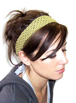 Hair Raising Headband Pattern (Knit)