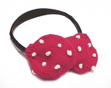 Headphone Covers Pattern (Knit)