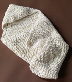 Hooded Baby Wrap Pattern (Knit)