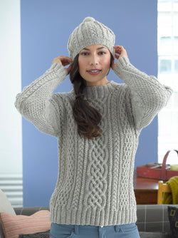 Inishturk Sweater and Tam Pattern (Knit)