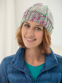 Inside Out Ribbed Hat (Knit)