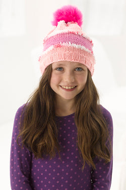 Jazzy Knit Hat Pattern