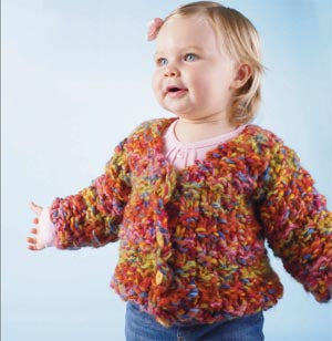 Jelly Bean Cardigan Pattern (Knit)