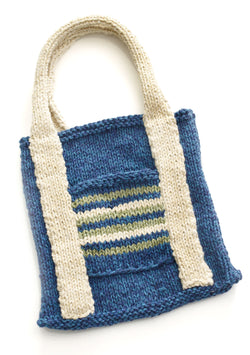 Kids Earth Day Tote Pattern (Knit)