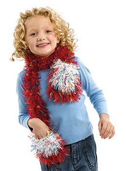 Kids Pocket Scarf Pattern (Knit)