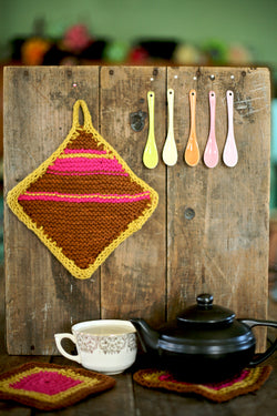 Knit Potholder (Knit)