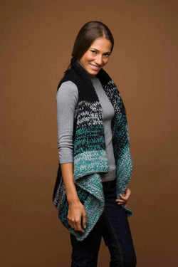Knit Rectangle Vest Pattern (Knit)