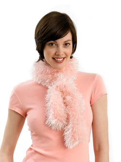 Knit for a Cause Fun Fur Scarf (Knit)