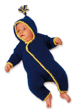 Knitted Baby Onesy Pattern