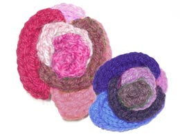 Knitted Rose Pattern