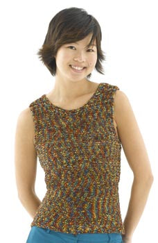 Knitted Simple Shell Pattern (Knit)